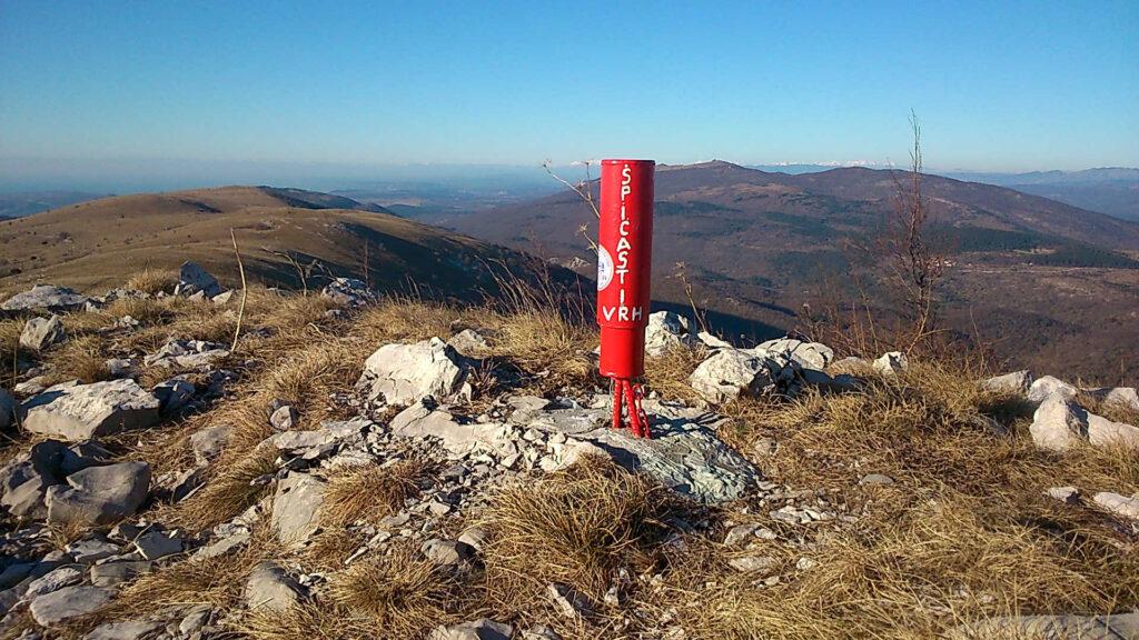 Špicasti Vrh nahe der slowenisch-kroatischen Grenze